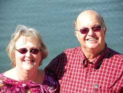 Patsy and Marshall Bynum, owners of Cherokee Village Resort